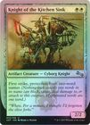 Knight of the Kitchen Sink E Protection from two word names Foil