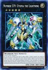 Number S39 Utopia the Lightning LCKC EN087 Secret Rare Unlimited
