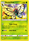 Butterfree 4 214 Rare