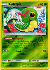 Caterpie 2 214 Common Reverse Holo