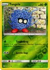 Tangela 16 214 Common Reverse Holo