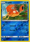 Krabby 46 214 Common Reverse Holo