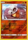 Cubone 90 214 Common Reverse Holo
