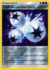 Triple Acceleration Energy 190 214 Uncommon Reverse Holo