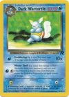 Dark Wartortle 46 82 Uncommon Unlimited