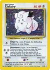 Clefairy 5 102 Holo Unlimited