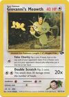 Giovanni s Meowth 43 132 Uncommon Unlimited