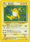 Raichu 14 102 Holo Unlimited