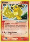Flareon Gold Star 100 108 Ultra Rare