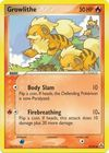 Growlithe 55 92 Common