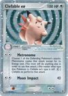 Clefable ex 106 112 Ultra Rare