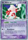 Mr Mime ex 1 110 112 Ultra Rare