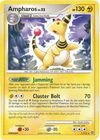 Ampharos 1 132 Rare Theme Deck Exclusive