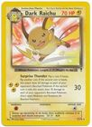 Dark Raichu 7 110 Rare Theme Deck Exclusive