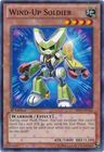 Wind Up Soldier BP01 EN166 Starfoil Rare 1st Edition