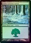Snow Covered Forest Foil