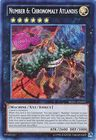 Number 6 Chronomaly Atlandis REDU EN092 Secret Rare Unlimited