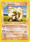 Arcanine 23 102 Uncommon Shadowless