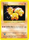 Vulpix 68 102 Common Shadowless